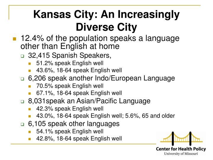 Kansas City: An Increasingly Diverse City