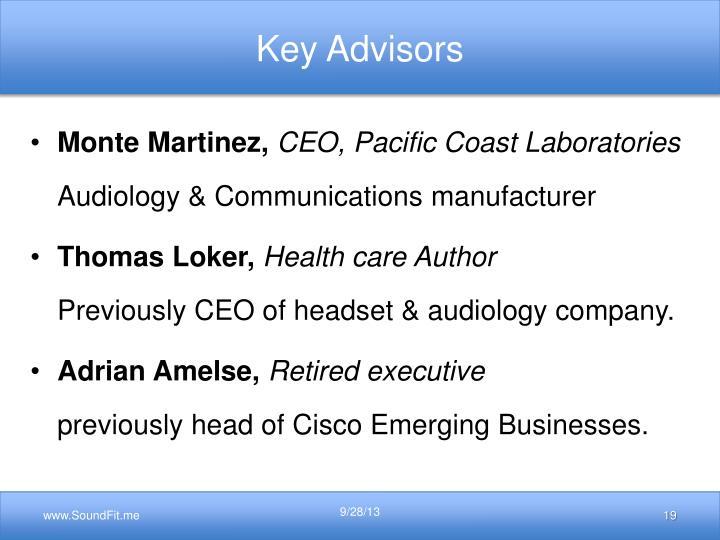 Key Advisors