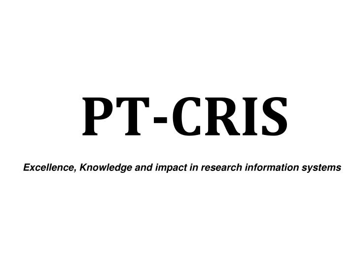 PT-CRIS
