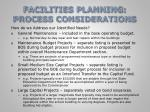 facilities planning process considerations4