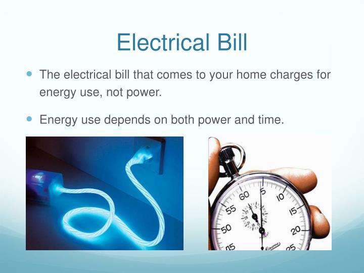 Electrical Bill