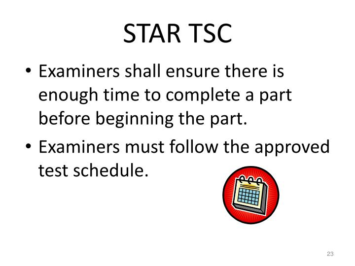 STAR TSC