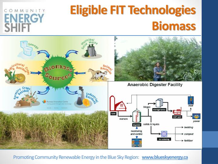 Eligible FIT Technologies