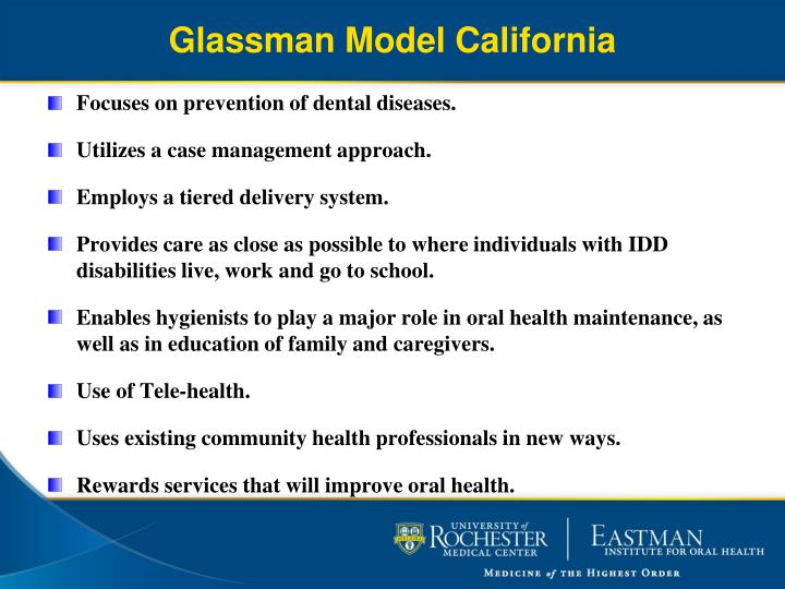 Glassman Model California