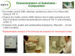 characterization of substrates composition