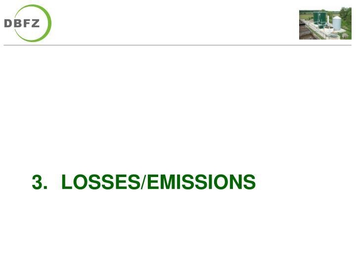 Losses/Emissions