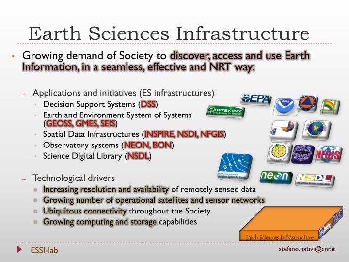 Earth Sciences Infrastructure