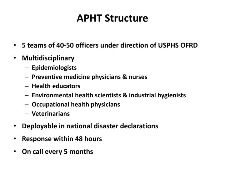 APHT Structure