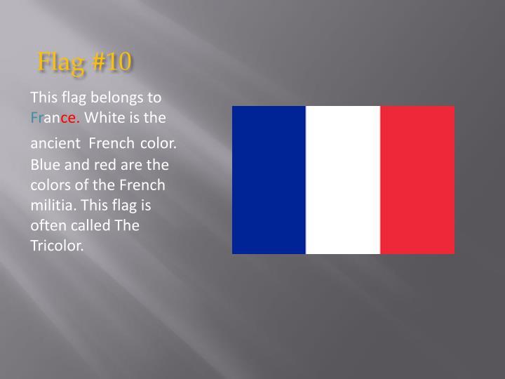 Flag #10