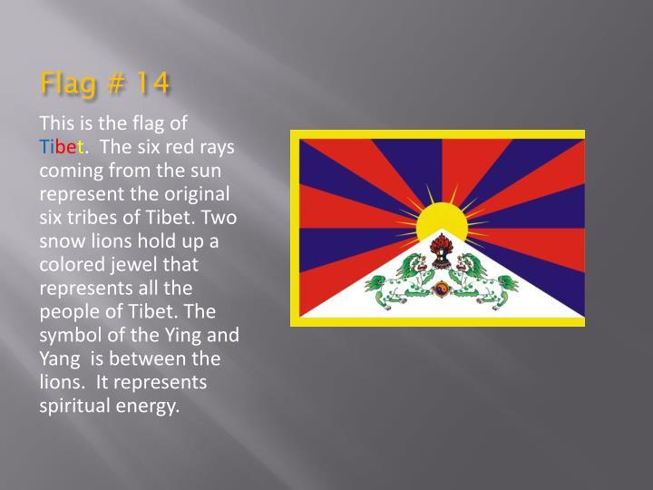 Flag # 14