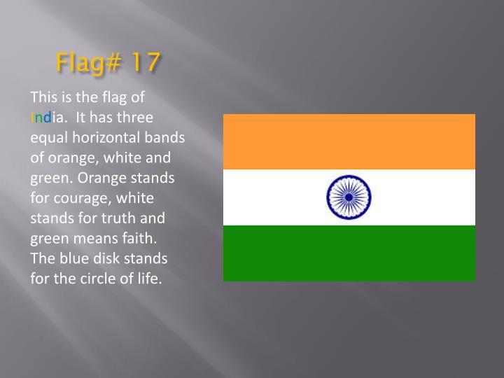 Flag# 17