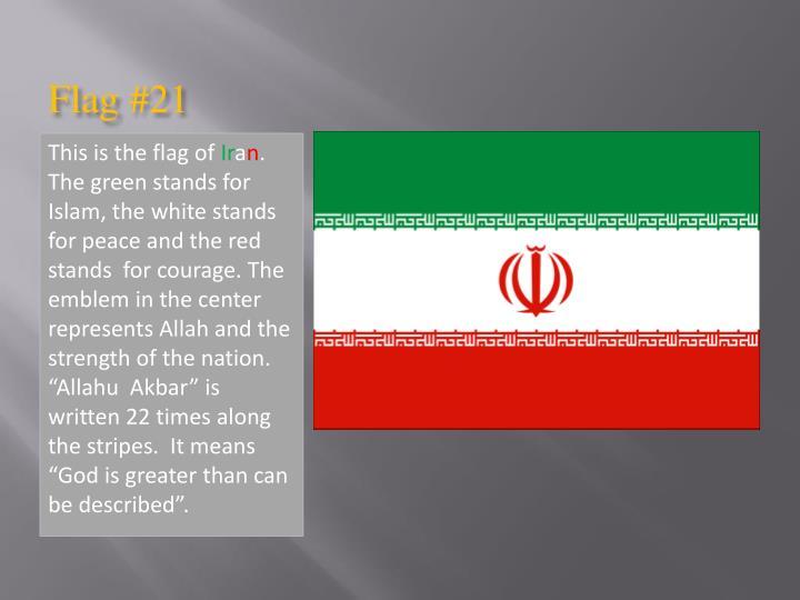 Flag #21