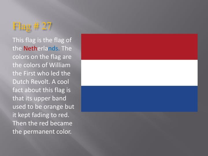 Flag # 27
