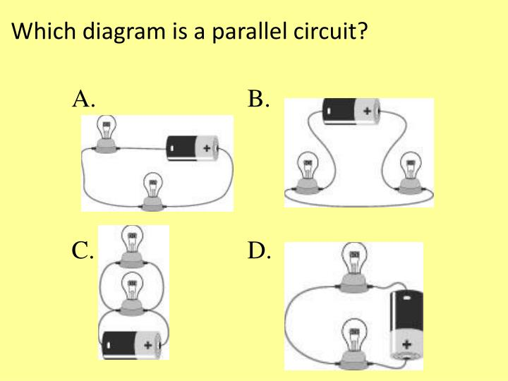 Which diagram is a parallel circuit?