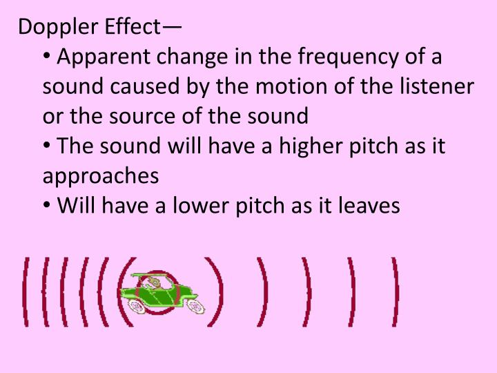 Doppler Effect—