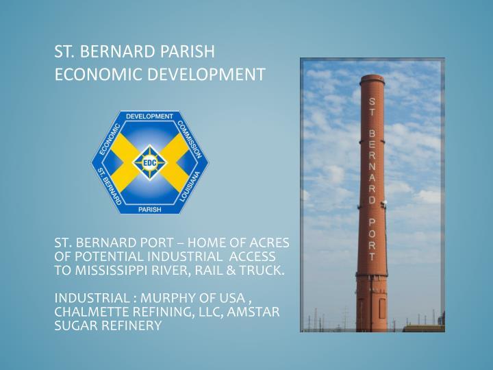 St. Bernard Parish Economic Development