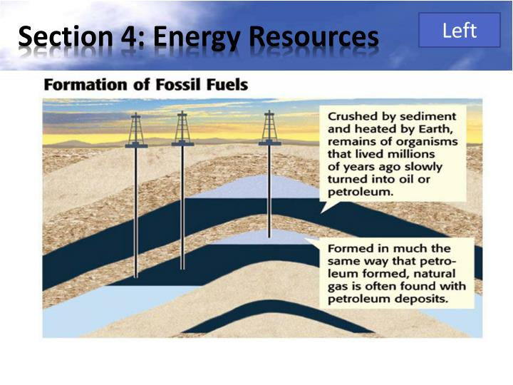 Section 4: Energy Resources