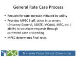 general rate case process