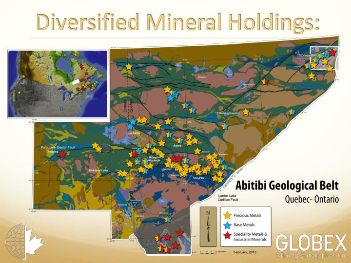 Diversified Mineral Holdings: