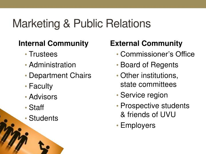 Marketing & Public Relations