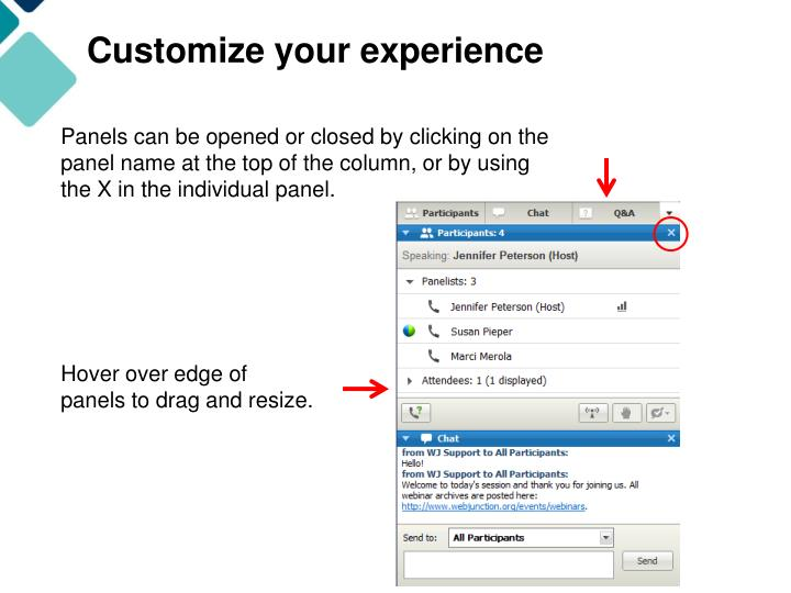 Customize your experience