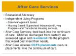 after care services