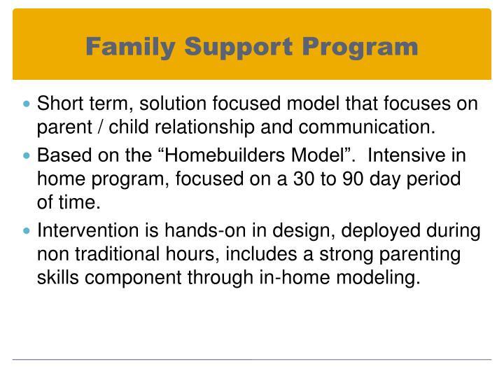 Family Support Program