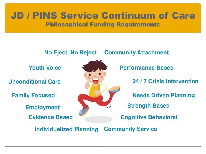 JD / PINS Service Continuum of Care