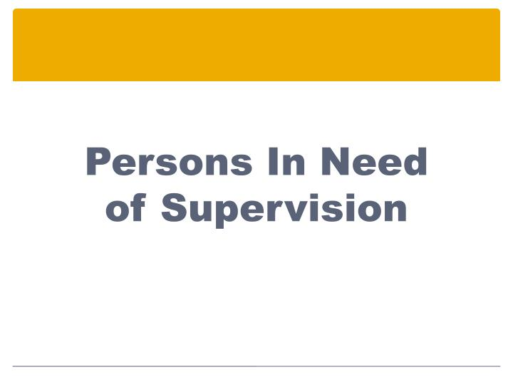 Persons In Need