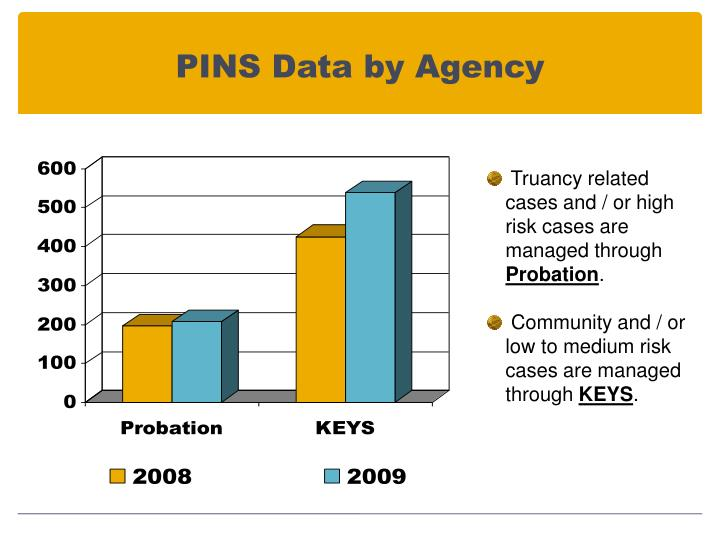 PINS Data by Agency