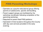 pins parenting workshops
