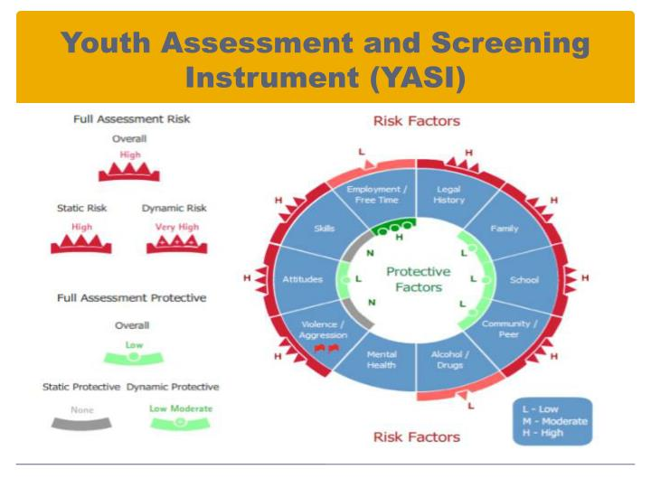 Youth Assessment and Screening Instrument (YASI)