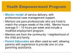 youth empowerment program