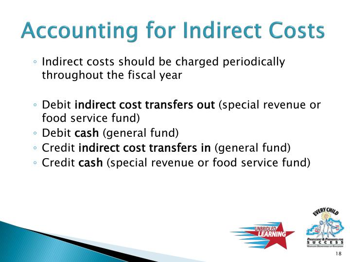 Accounting for Indirect Costs
