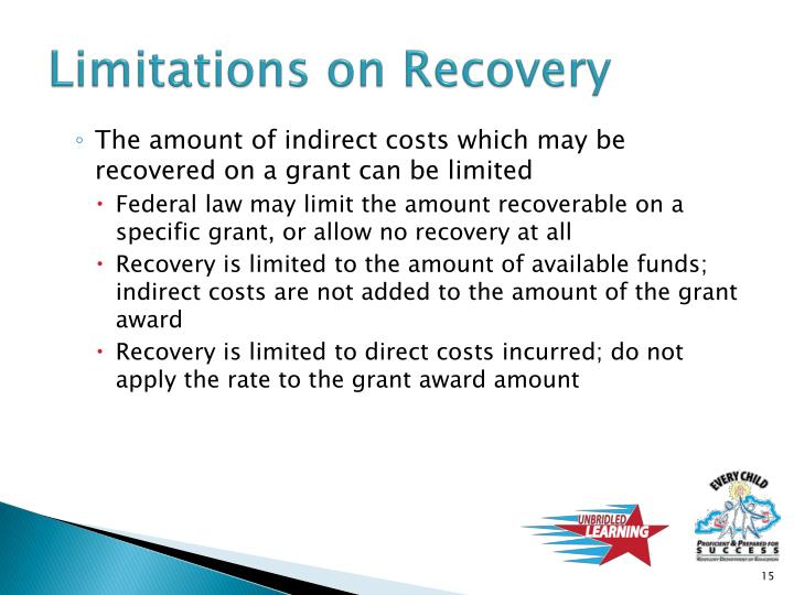 Limitations on Recovery