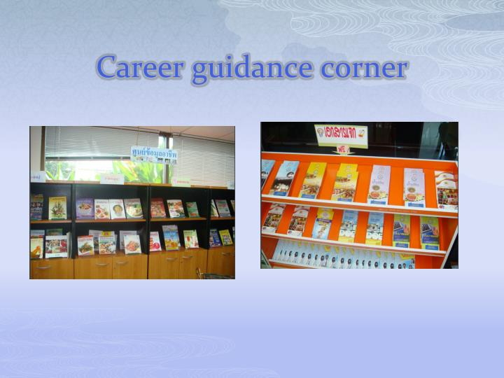 Career guidance corner