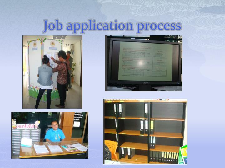 Job application process