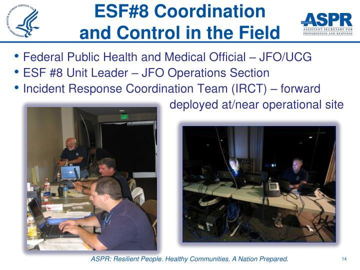 ESF#8 Coordination