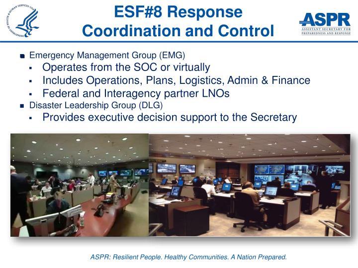 ESF#8 Response