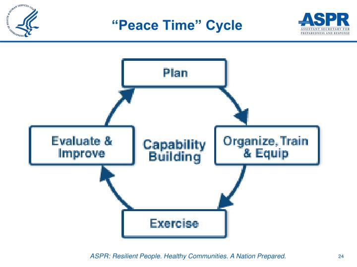 """Peace Time"" Cycle"