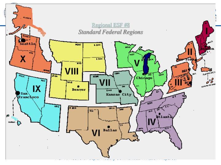 Regional ESF #8