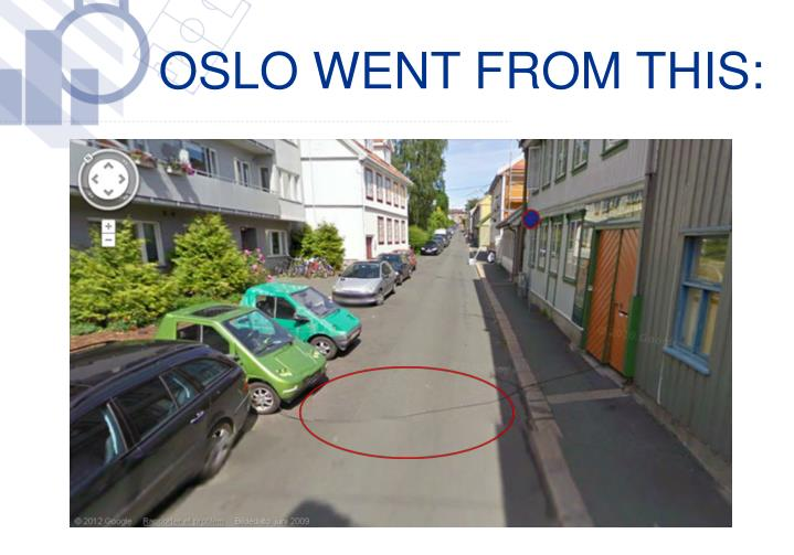 Oslo went from this