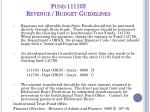 fund 111103 revenue budget guidelines2
