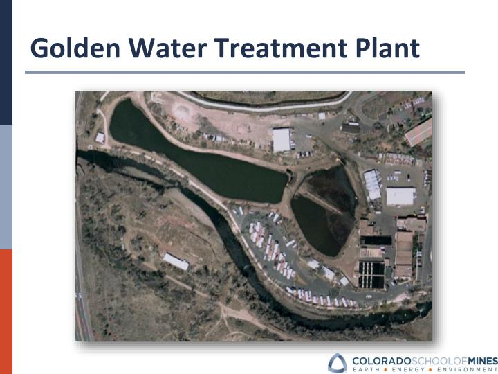 Golden Water Treatment Plant