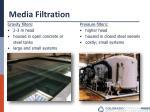 media filtration