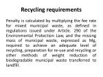recycling requirements3
