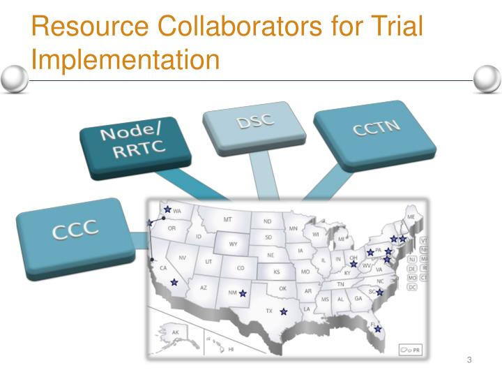 Resource Collaborators for Trial Implementation