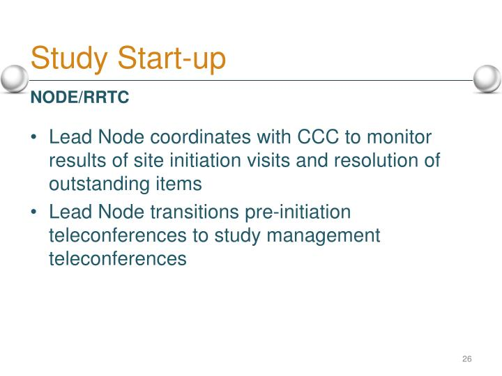 Study Start-up