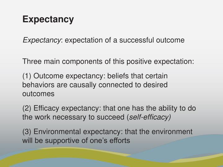 Expectancy