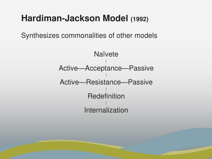 Hardiman-Jackson Model